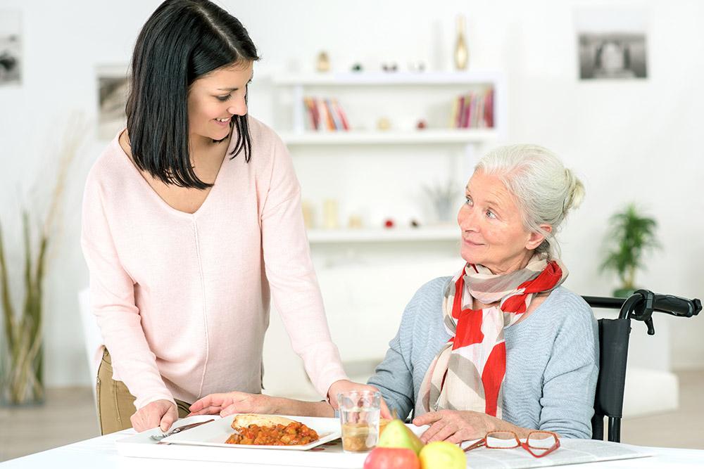 Portage repas domicile seniors